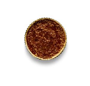 Felicity Cloake Masterclass: Tarta de melaza. 7 Hornee durante unos 20 minutos a fuego lento, enfríe, luego sirva con helado o crema pastelera.