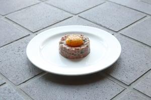 El filete tártaro de la Bistrotheque