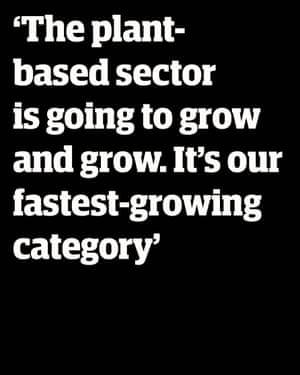 """David Lewis, Director de Desarrollo Bakkavor: """"El sector de las plantas solo va a crecer y crecer. Esta es la categoría de más rápido crecimiento en la que estamos trabajando. """""""