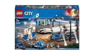 Nave espacial para cohetes y transportes Lego, £ 119.99