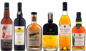 el mejor whisky, ron, oporto y jerez