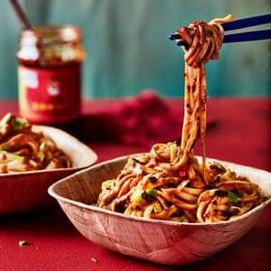 Sésamo y Wei Xiang Zhai Chili Noodles de Michael Zee.