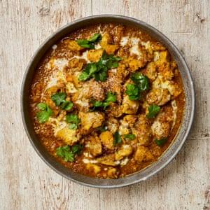Pollo al curry con coco de Malasia, Yotam Ottolenghi.