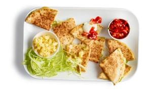 Las quesadillas perfectas de Felicity Cloake.