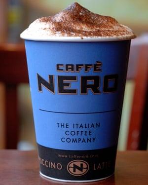 Caffe Nero para Nina Matsunaga