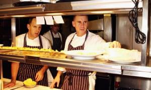 Rodas en la cocina en 2003