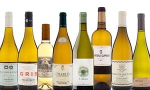 vinos blancos de £ 10 a £ 20 Navidad OFM 2019