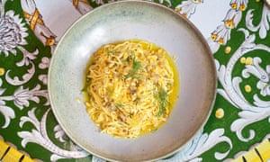 'Un plato clásico': tagliolini fresco.