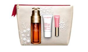 Juego de regalo Clarins Double Serum Skincare para maquillaje y maquillaje desde € 70.20