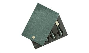 Tabla de quesos de mármol con cuchillos, £ 50