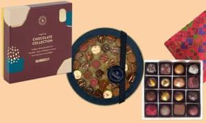 Cajas de chocolate de menos de £ 20