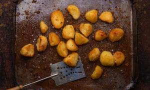 Patatas asadas de Rory O'Connell.