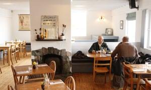 El restaurante Inver en Strachur, Argyll, Escocia