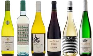 Seis de los mejores vinos con bajo contenido de alcohol.
