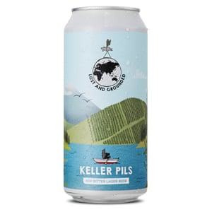Keller Pils perdido y varado
