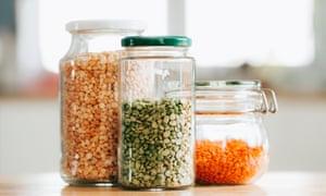 Lentejas y legumbres: artículos esenciales para armarios de tiendas confiables y económicos