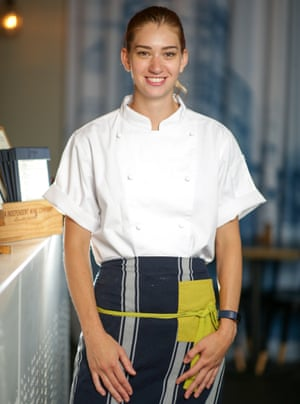 Liz Mason, chef ejecutiva de Song Kitchen