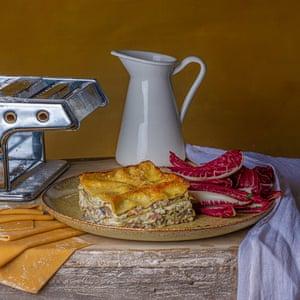Vincisgrassi: un plato de pasta del siglo XVIII.