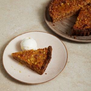 Henrietta Inman tarta de miel, jengibre y limón.