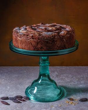 """""""Un milagro"""": un pastel de chocolate fondant."""