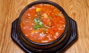 El especial: yukgaejang, o sopa de carne de res.
