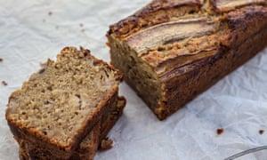 Pan de plátano ... receta ideal sin azúcar.