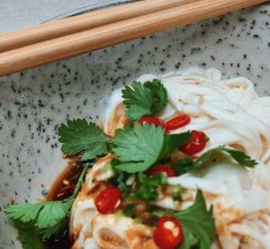 Fideos de tofu