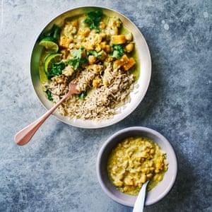 El curry verde de Beth Bentley.
