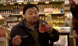 David Chang en Ugly Delicious en Netflix.