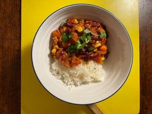 La pimienta vegetariana de Marie Laforêt utiliza soja picada.
