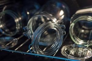 Esterilización Kilner en el horno