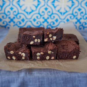 Brownies de chocolate sin gluten de Claire Ptak.