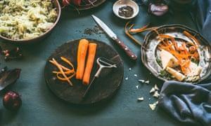 Las verduras restantes pueden disfrutar de una vida extra como hummus de zanahoria