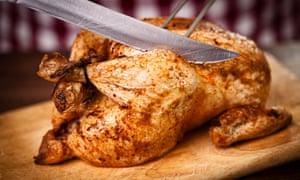 Pollo asado ... un punto de partida perfecto para tres días de celebración.