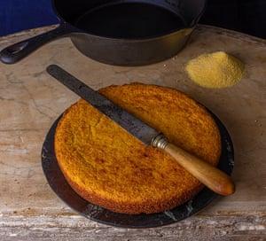 Pan de maíz norte-sur.
