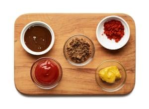 Ingredientes para un adobo