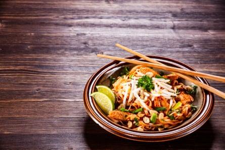 Pollo Pad Thai.