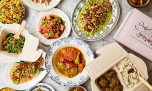 Buenas noticias: comodidad y amplitud; Los platos de alegría de Ravinder Bhogal.