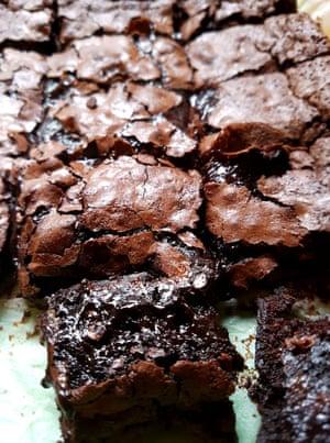 Brownies de dulce de azúcar Nigel