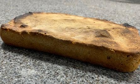 Liselle pan de masa madre.