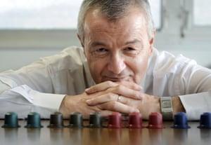 Jean-Paul Gaillard, ex director de Nespresso y fundador de su rival Ethical Coffee Company, en 2010.