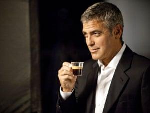 George Clooney en un anuncio de Nespresso