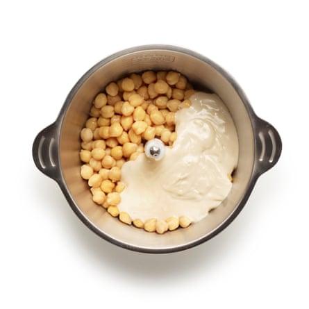 Clase magistral de Felicity Cloake: Hummus 08