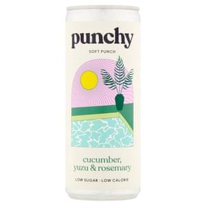Ponche Punchy: ponche de pepino dulce, yuzu y romero