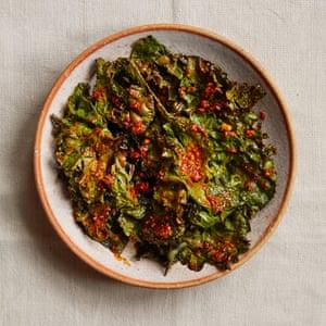 Verduras asadas con especias suya de Zoe Adjonyoh.
