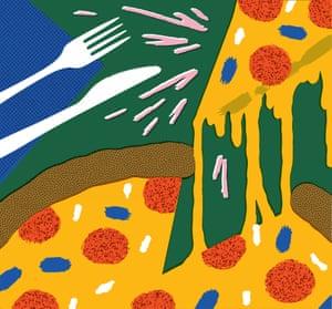 Lo mejor que comí este verano Ilustración Observer Food Monthly OFM Agosto 2020