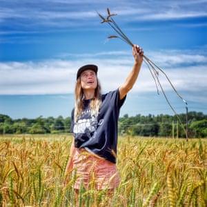 """Abi Aspen Glencross: """"El cereal Heritage es delicioso: cuando dejas de cultivar para obtener rendimiento y comienzas a cultivar para calidad, el sabor es una locura""""."""