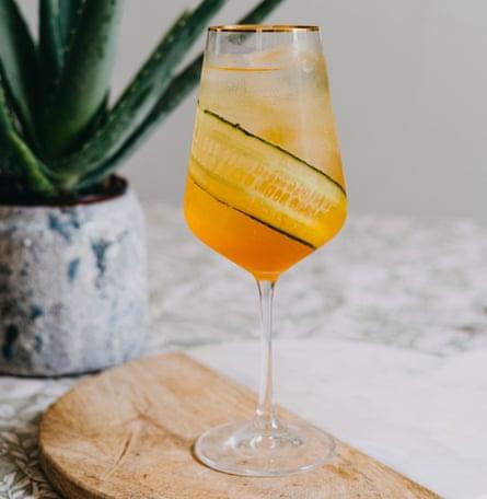 El saludable spritz hedonista de Camille Vidal.