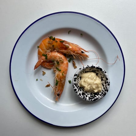 Escalfar, no freír - Sam y Eddie Hart & # 39; s Garlic Shrimp