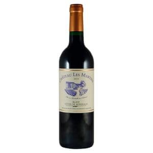 Château Les Martins 2016 Blaye Côtes de Bordeaux 13,5%